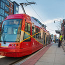 Washington, DC Streetcar along H Street NE