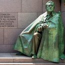 FDR Memorial Statue in Washington, DC