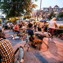 Diners enjoying the outdoor patio at Room 11 in Columbia Heights - Where to eat and drink in Washington, DC