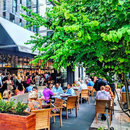 @jbcevents - Outdoor Dining at Fig and Olive Patio in CityCenterDC - Where to Eat in Washington, DC Right Now
