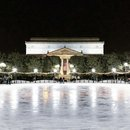 @jennrightmeow - Nighttime ice skating at the National Gallery of Art Sculpture Garden on the National Mall - Make the most of winter in Washington, DC