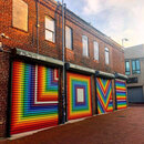 LOVE mural by LisaMaria Thalhammer in DC