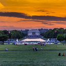 @marcodip25 - Summer sunset on the National Mall in Washington, DC