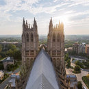 @markalanandre - View of Washington, DC from the top of the Washington National Cathedral