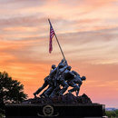 @michaeldphotos - sunset at Marine Corps Memorial
