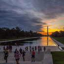 national mall early sunrise
