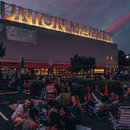 Where to enjoy an outdoor movie this summer in Washington, DC - Summer movie during sunset at Union Market