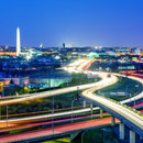 Washington, DC Skyline at Night - The Capital of the United States of America