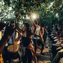The best things to do in DC's Columbia Heights neighborhood - Meridian Hill Park Sunday drum circle