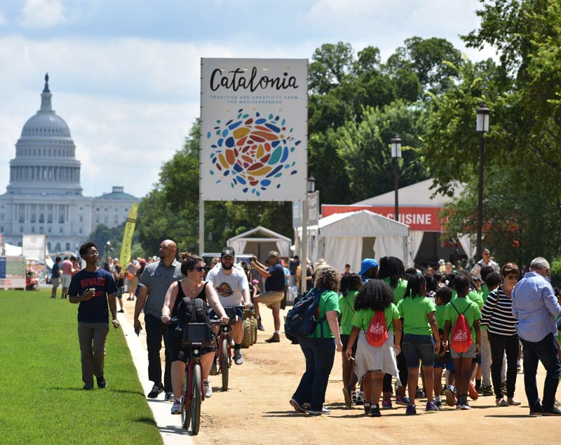Smithsonian Folklife Festival on the National Mall - Free international music, crafts and arts festival in Washington, DC