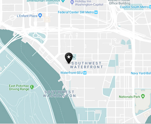 southwest waterfront neighborhood map