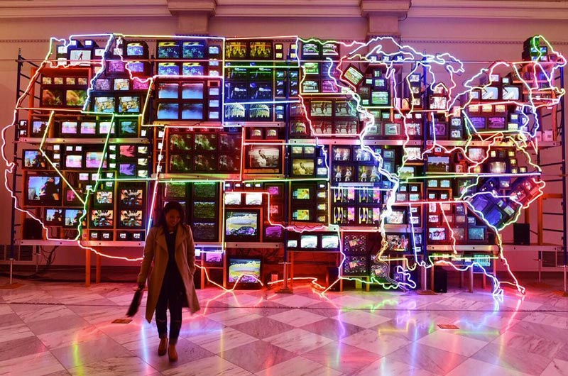 @syang - Electronic Superhighway at the Smithsonian American Art Museum - Things to Do in Washington, DC