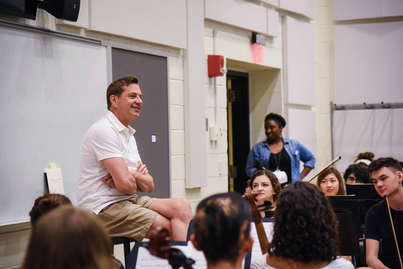 National Symphony Orchestra workshops - Programming during the Kennedy Center's REACH opening festival in September 2019