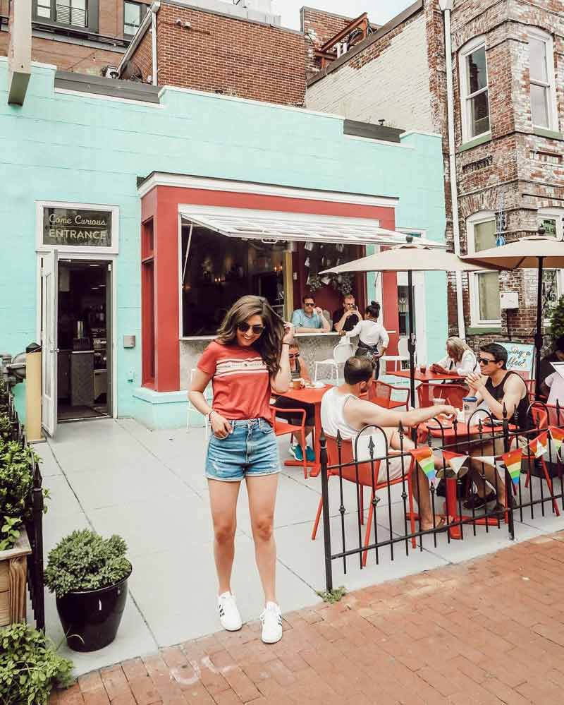 @theemilyedition - Summertime on the patio at Colada Shop - The best places to eat and drink in Washington, DC