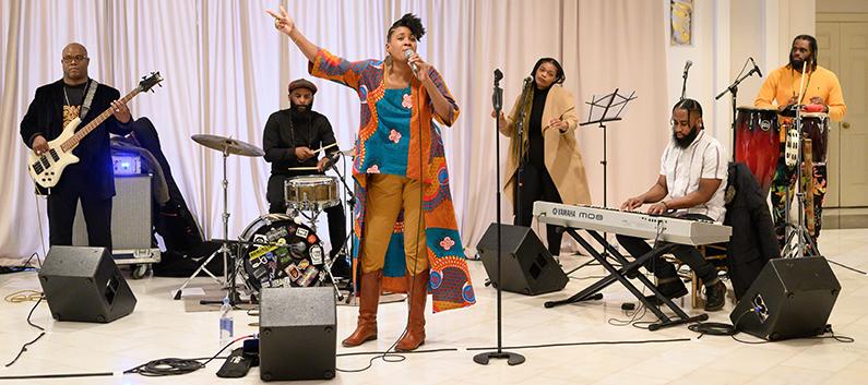 National Museum of Women in the Arts Event The Tea: Tamika Love Jones