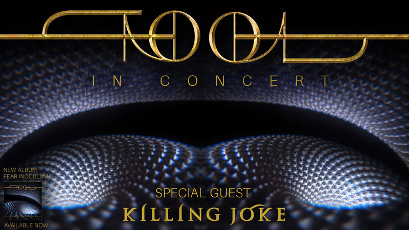 Tool concert at Capital One Arena this November in Washington, DC