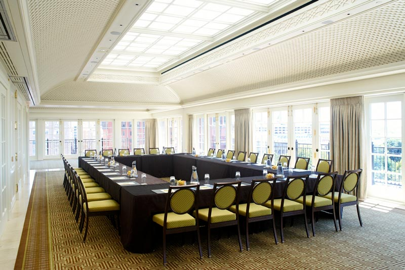 Meeting space at Top of the Hay in The Hay-Adams Hotel - Meeting and event space in Downtown Washington, DC
