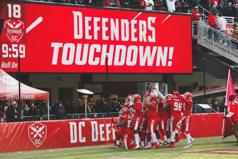 Touchdown, DC Defenders!