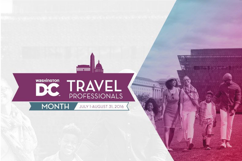 Travel Professionals Month - July 1- August 31, 2016