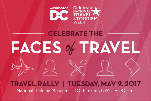 Travel Rally - Destination DC Announces Record Domestic Visitation and Visitor Spending in 2016