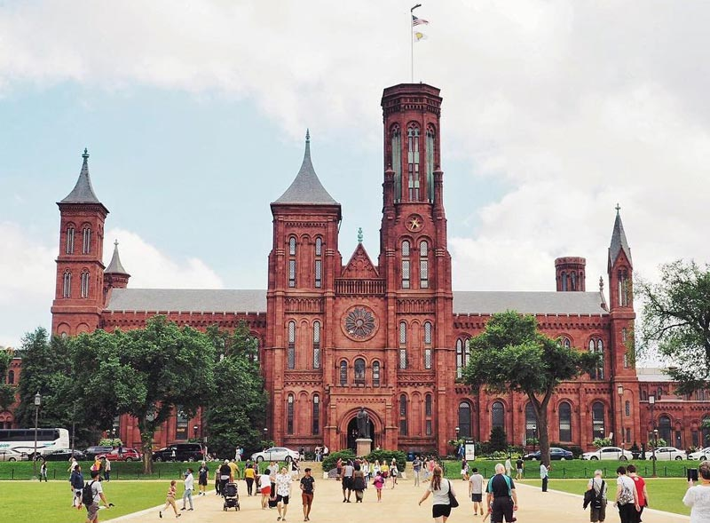 Smithsonian Washington Dc Map.The Smithsonian Castle Gateway To Museums Washington Org