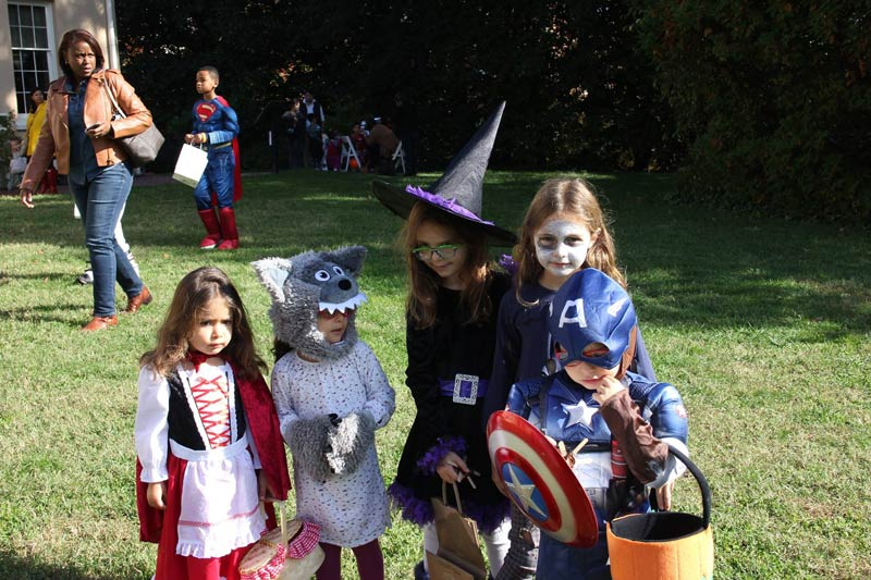 Trick-or-Treat at Tudor Place Historic House and Garden - Kid-friendly Halloween events in Washington, DC