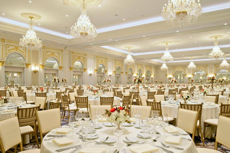 Large Luxury Ballroom at the Trump International Hotel Washington, DC