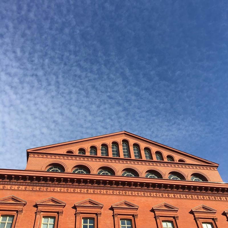 @twigemlens - Exterior of National Building Museum in Washington, DC