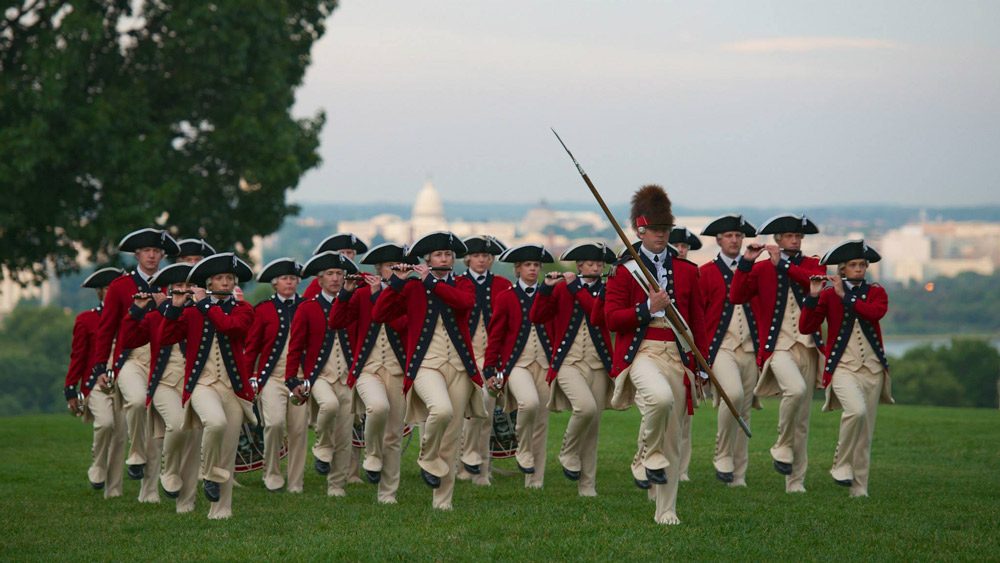Twilight Tattoo - Summerall Field, Fort Myer, Arlington
