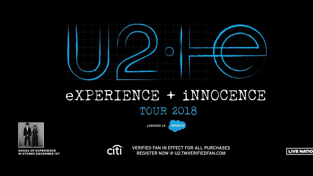 U2 at Capital One Arena - Concerts this June in Washington, DC