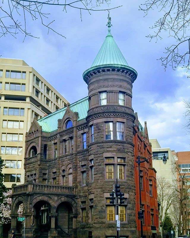 @uhveevah - Heurich House Museum The Brewmaster's Castle in Dupont Circle - Historic house and museum in Washington, DC