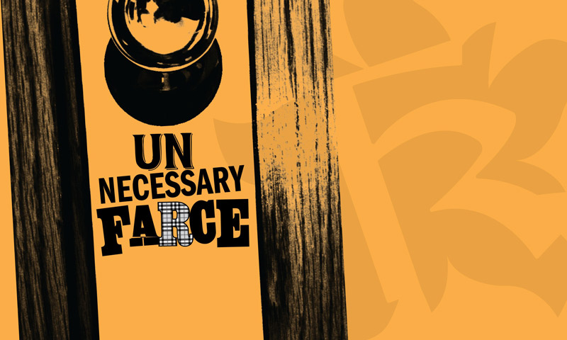 'Unnecessary Farce' production at The Keegan Theatre - Theater in Washington, DC