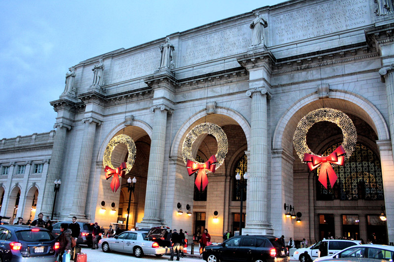 Christmas at Union Station - Washington, DC