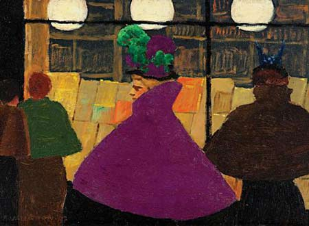 Félix Vallotton Passerby at Bonnard to Vuillard Exhibit at Phillips Collection