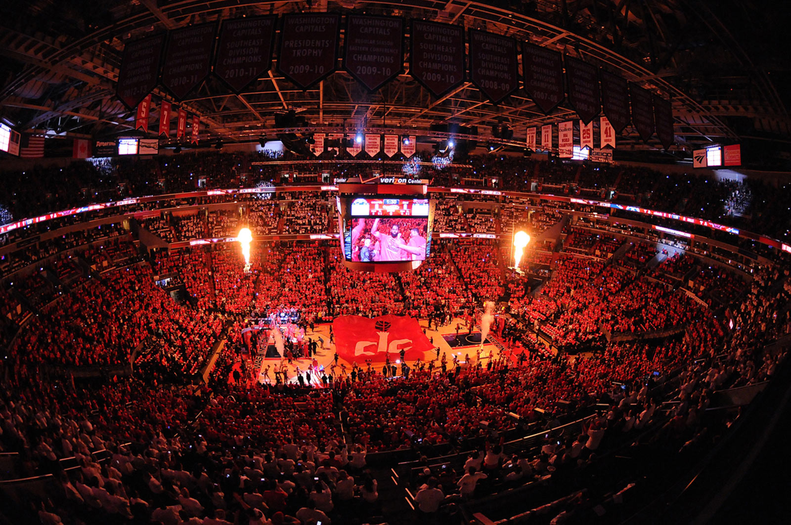 Washington Wizards Playoff Game in the Verizon Center