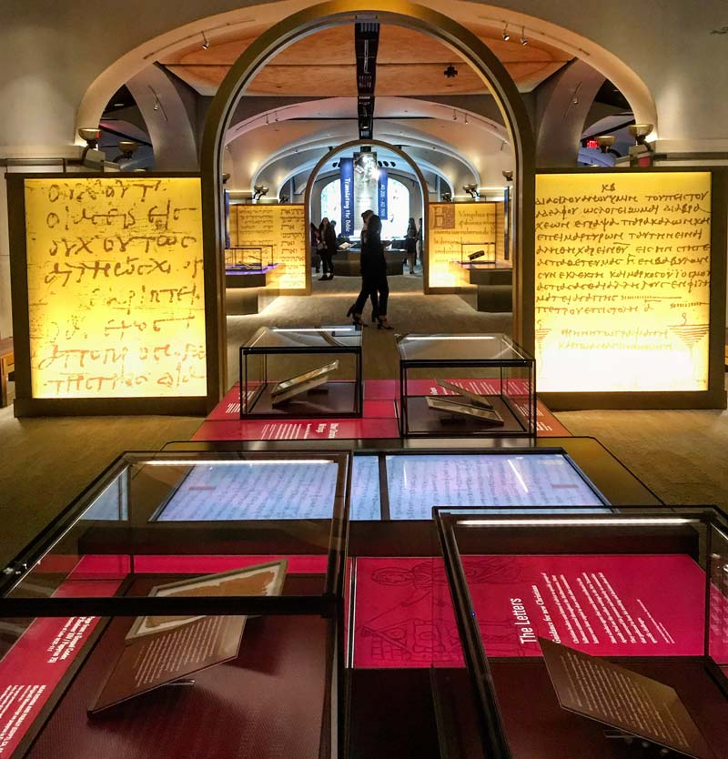 Museum of the Bible in Washington, DC - New state-of-the-art museum near the National Mall