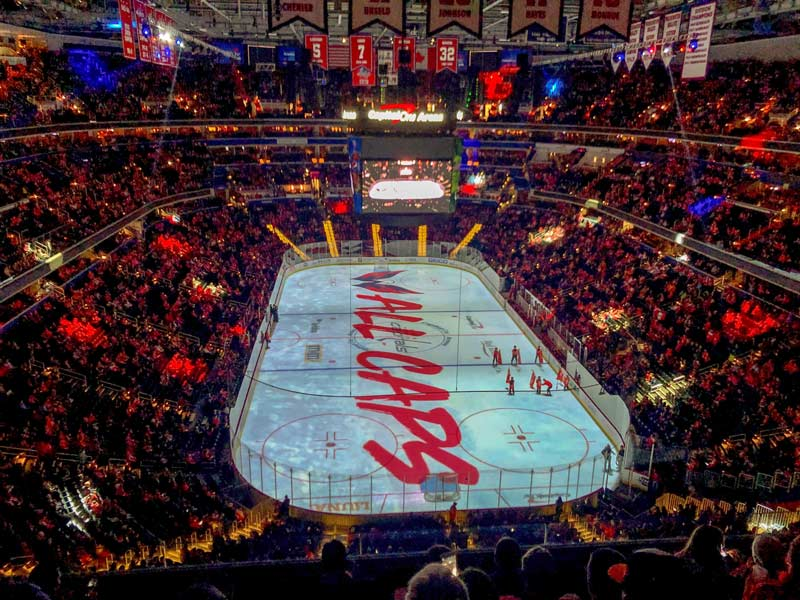 Washington Capitals game at Capital One Arena - Reasons to check out a Capitals hockey game in DC