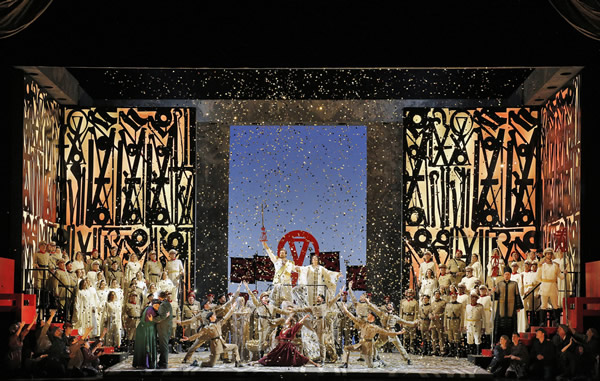 Washington National Opera's Aida at The John F. Kennedy Center for the Performing Arts in Washington, DC