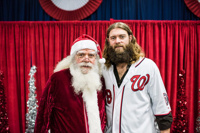 Washington Nationals Winterfest - Jayson Werth & Santa Claus - Holiday Events in Washington, DC