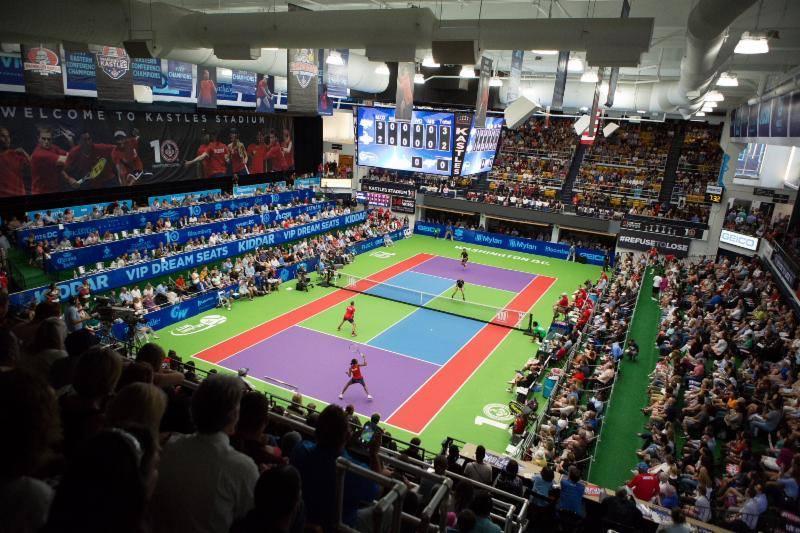 Washington Kastles tennis match at Kastles Stadium - Professional tennis in Washington, DC