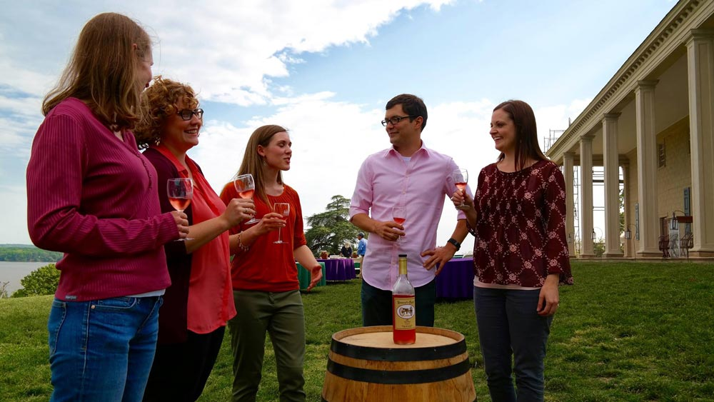 George Washington's Mount Vernon Spring Wine Festival & Sunset Tour
