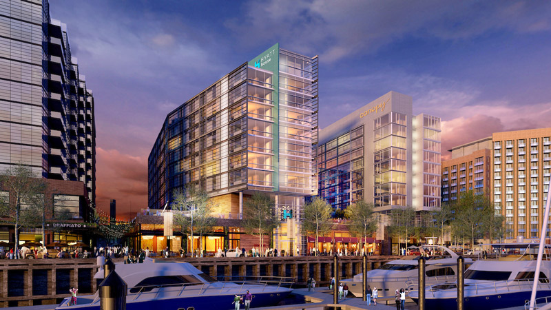 Canopy by Hilton and Hyatt House at the Wharf - Hotels Coming Soon in Washington, DC