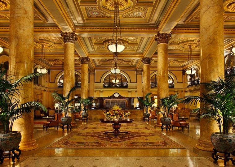 Willard InterContinental Washington Lobby - Washington, DC