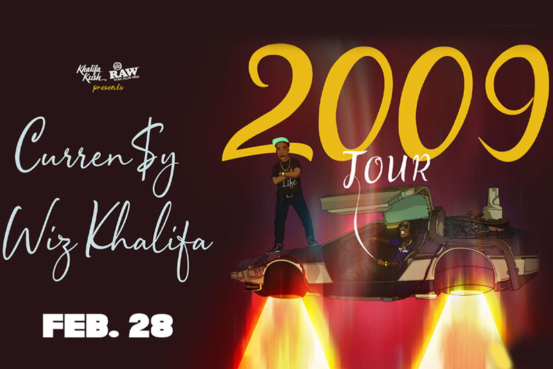 Wiz Khalifa and Curren$y at The Fillmore Silver Spring - Concerts and entertainment in Washington, DC