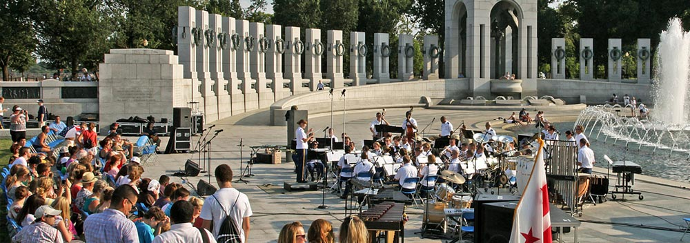 World War II Memorial Concert - Washington, DC