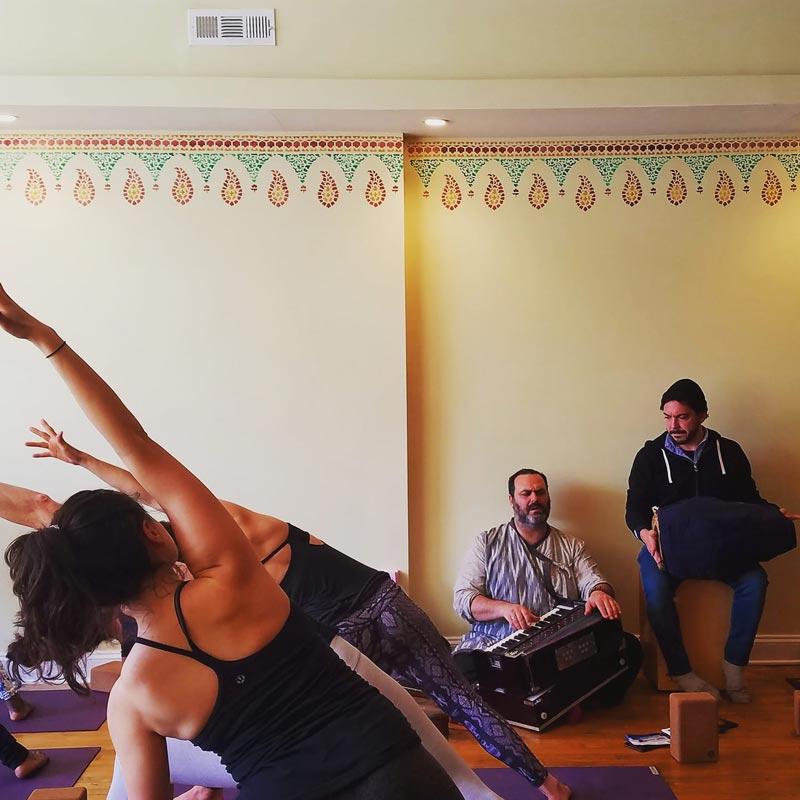 Yoga class at Bhakti Yoga DC in Mount Vernon Square - Yoga studio in Washington, DC
