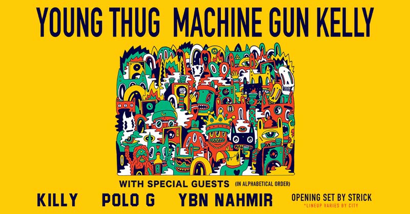 Young Thug and Machine Gun Kelly concert at The Anthem - Concerts this fall in Washington, DC