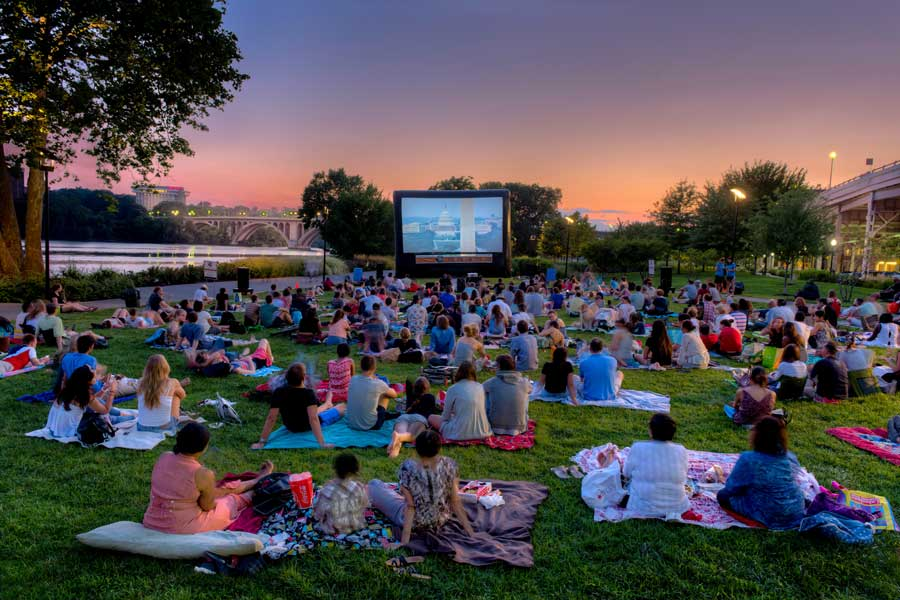 Georgetown Sunset Cinema Sam Kittner