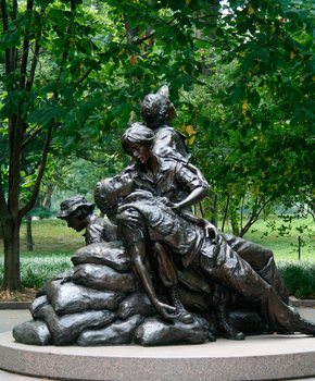 Vietnam Veteran Women's Memorial - National Mall - Washington, DC