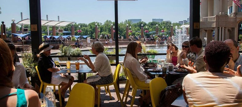 And head to the riverfront for its sister restaurant, Farmers Fishers Bakers
